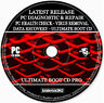 PC Diagnostician Health Check Repair Rescue Data Recovery Virus Removal PC CD +