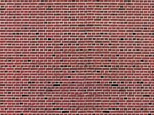 Vollmer H0 46042 Wall Panel Clinker Red 250 X 125 mm NEW