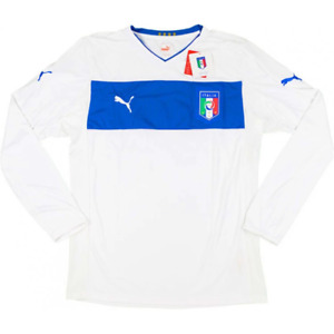 2012-13 ITALY PLAYER ISSUE AWAY L/S SHIRT BNWT