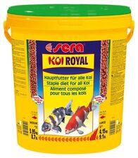 sera KOI ROYAL MEDIUM - Ausgewogenes Hauptfutter für Koi (1 x 21 Liter)