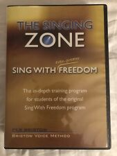 The Singing Zone Singing With Freedom Vocal Lesson DVDs