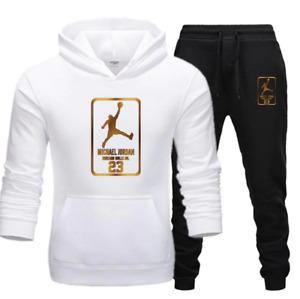 Men Hoodies Jordan Tracksuit Sweatshirt Suit Sweat pants Jogging Pullover