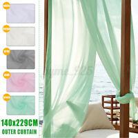 Outdoor Curtain Sunlight Window Blackout Waterproof Drape Wedding Patio