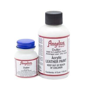 Duller Angelus Lederfarbe 29,5ml (23,56€/100ml) Glanz der Lederfarbe reduzieren