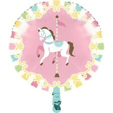 Carousel Foil Balloon 18 Inch Baby Shower Girls Birthday Decorations Party