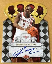 2010 Panini Basketball Jermaine Taylor Autograph Card 502/699