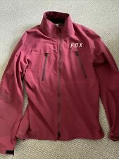 Fox Racing Attack Pro Water Jacket, Burgundy, Men's Large