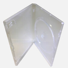 5 x Genuine Clear Amaray Single DVD Cases ~ Brand New ~