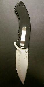 Kershaw Rake 1780CB Rare Beadblast Finish Knife Made in USA Composite Blade 1780
