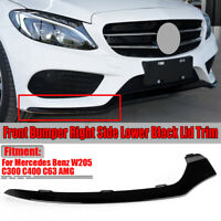 Right Front Bumper Lower Black Trim For Benz Mercedes C-Class W205