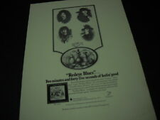 Redeye 2 minutes 45 seconds of Feelin' Good 1971 Promo Poster Ad mint condition
