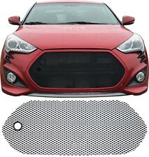 CCG PERF GT MESH GRILL GRILLE & TOW HOOK HOLE FOR A 12-17 HYUNDAI VELOSTER TURBO