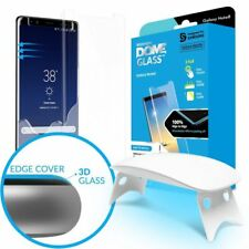 WHITESTONE DOME Tempered Glass Fullcover 3D 9H 0.3M CURVED Samsung Galaxy NOTE 8