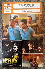 US Crime Drama Movie The Onion Field Ted Danson debut French Film Trade Card