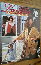 Lacy Vests & Sweaters Craft Booklet Annies Attic