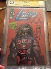 Lobo's Back 1 CGC SS WP 9.6 Bite Me Fanboy!  Signed Simon Bisley / Keith Giffen