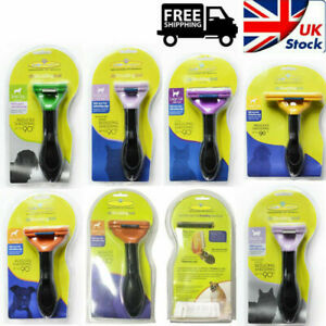 Furminator Deshedding Grooming Tool Cats Dogs Brush Rake Comb Genuine Items