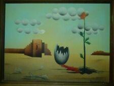 Malerei auf Leinwand im Surrealismus-Kunststil