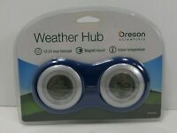 Weather Hub by Oregon Scientific in Blue , BA168, Brand New