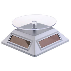 Shop Retail 360° Rotating Jewelery Display Stand Hold Silver for Exhibition