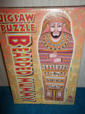 BEARDED MUMMY JIGSAW - MUMMY SHAPED, 430 PIECE PUZZLE - BRITISH MUSEUM - SEALED