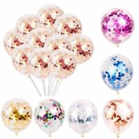 "20pcs 12"" Confetti Latex Balloons Wedding Birthday Hen Party Baby Shower Balloon"