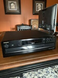Onkyo DX-C340 Compact Disc Player Multi Player Changer 6 CD Carousel NO REMOTE