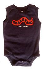 Gap Baby Boys Vest Romper Bodysuit Blue Worm Crawling 3-6 Months