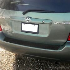 2001 07 Fits Toyota Highlander 1pc Rear Bumper Applique Scratch Guard Protector