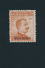 China OFFICES IN PEKING #16 (1917), OVERPRINT ON ITALY #112 ; MH; CV $300