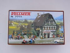 """Vollmer N - 7711 Bausatz """"Gasthaus mit Metzgerei"""" - Neu & OVP"""