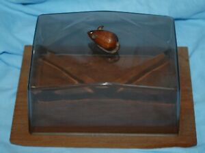 Beautiful Danish Cheese Dish with Mouse figure - Made in Denmark