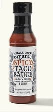Trader Joe's Organic Spicy Taco Sauce 13 oz New