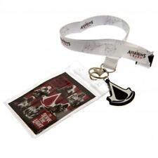 Assassins Creed Lanyard & Keyring Key Chain Ring Set