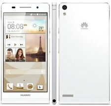 Huawei Ascend P6 -8GB-White *UNLOCKED* Quad Core CPU 4G Wifi Smartphone Sim Free