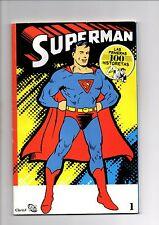 SUPERMAN - LAS PRIMERAS 100 HISTORIETAS COMPLETE COLLECTION  argentina 2011