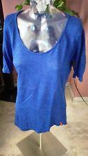 。☆*edc by Esprit Damen Shirt blau Gr.36/38 ☆*。*A255*