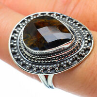Pietersite 925 Sterling Silver Ring Size 7.75 Ana Co Jewelry R30086F