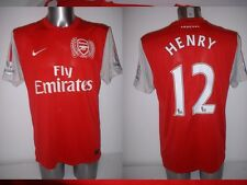 Arsenal HENRY Shirt Jersey football Soccer Nike Adult Large France Top Barcelona