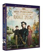 Miss Peregrine - La Casa Dei Ragazzi Speciali (Blu-Ray 3D) Tim Burton NUOVO