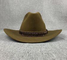 Mens Stetson Felt 4X Beaver Cowboy Hat Size 6 7/8