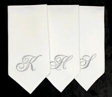SET OF 6 WEDDING SERVIETTES PERSONALIZED NAPKINS, TABLE SETTINGS, TABLE DECOR