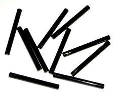 LEGO 10 Black Lightsaber Blades Minifig Wand Bars 4L 75916/75077/75919/76035