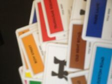 Monopoly Game, Set Of Title Deeds cards. Genuine Hasbro Games Parts.