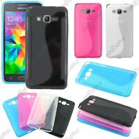 Housse Etui Coque Silicone S-line Samsung Galaxy Grand Prime Value Edition G531F