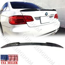 Carbon Fiber CS Style Trunk Spoiler For BMW E92 Coupe 328i 335i M3 Wing Lip CF