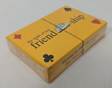 Cutty Sark Scotch Whisky Mark Real Friend Ship SKYY Spirits Playing Cards SEALED