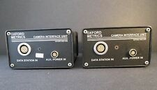 Two (2) OXFORD METRICS MOTION CAPTURE 3 Camera Interface Units Great Condition
