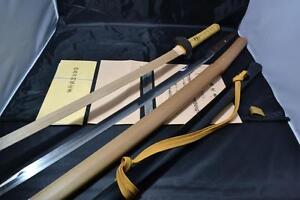 Japanese Samurai real sword Katana sharp steel blade Koshirae Shikkake (Koudai)