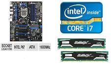 INTEL I7 3770K QUAD CORE X4 CPU P67 MOTHERBOARD 8GB DDR3 MEMORY RAM COMBO KIT